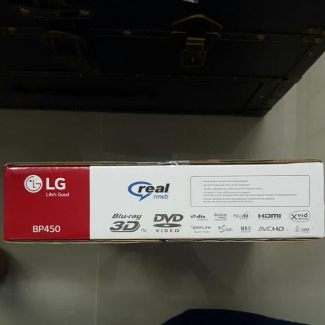 LG dvd Player (BP450)