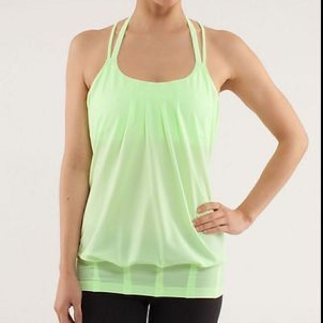 Lululemon Xsmall Flow And Go Tank