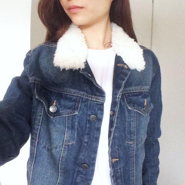 🚫pending🚫 Size S Mango Denim Jacket