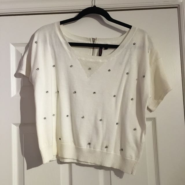 Material Girl Size M Sweater Shirt