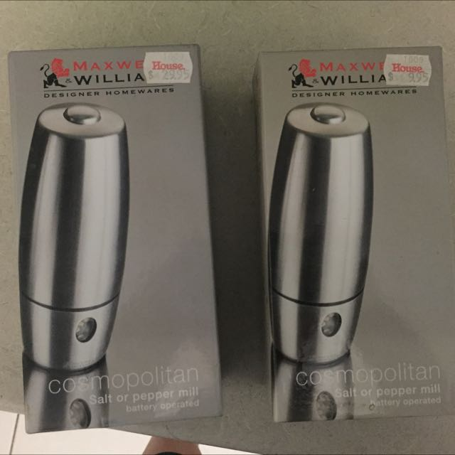 Maxwell And William Salt And Pepper Grinders