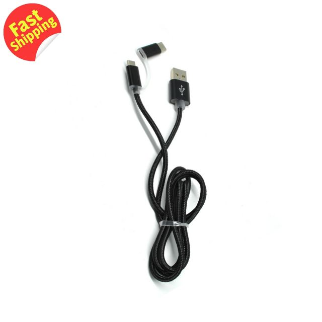 Noosy 2 in 1 Type C and Micro USB Data Cable