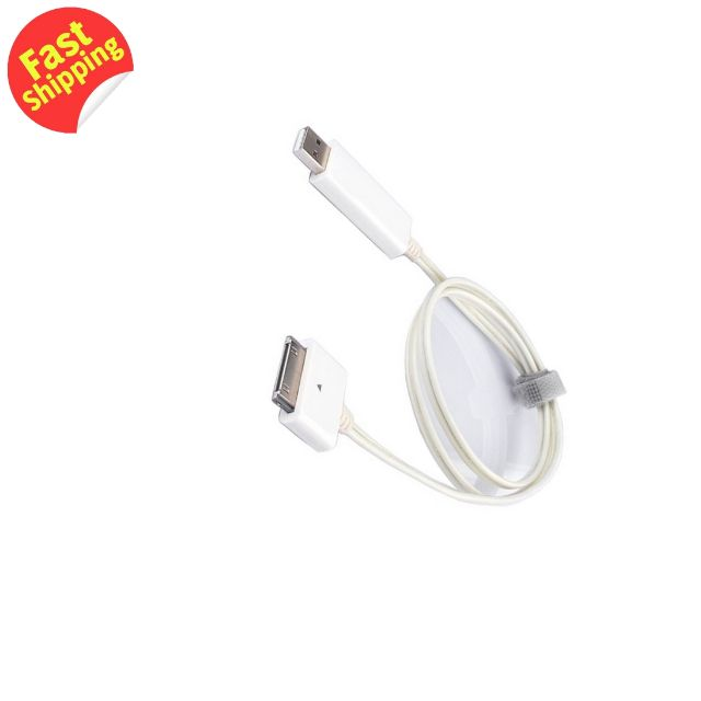 NOOSY Visible Flowing Current Flash Cable for Apple 30 Pin