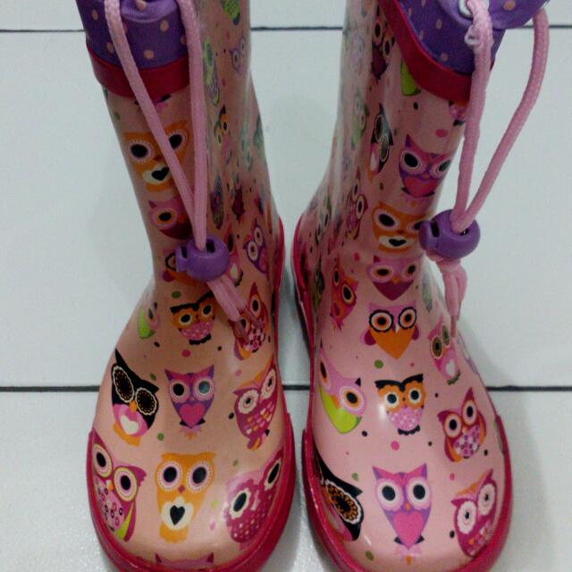 Papaya Rain Boots