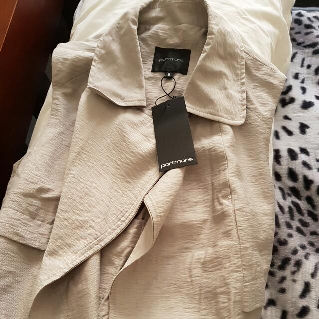 Portmans long trench coat