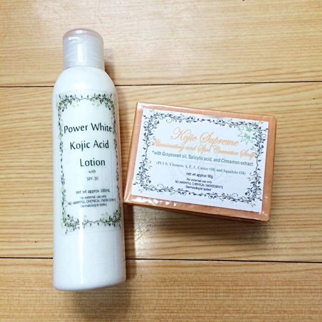 Power White & Soap