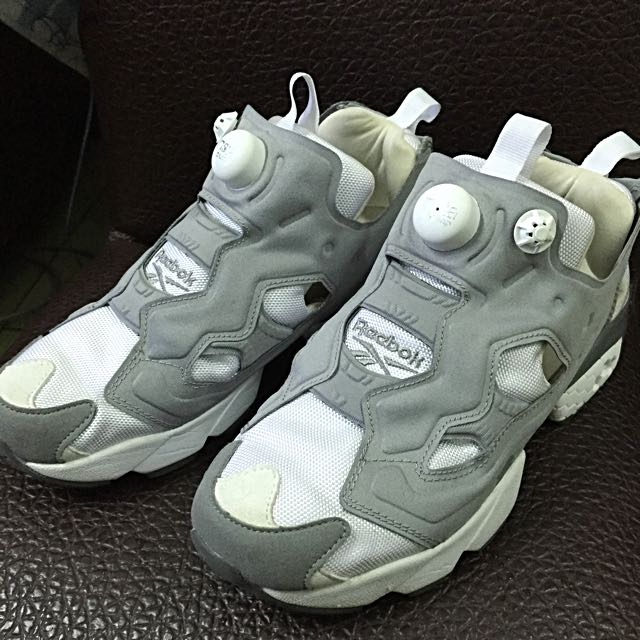 Reebok Pump Fury OG灰白