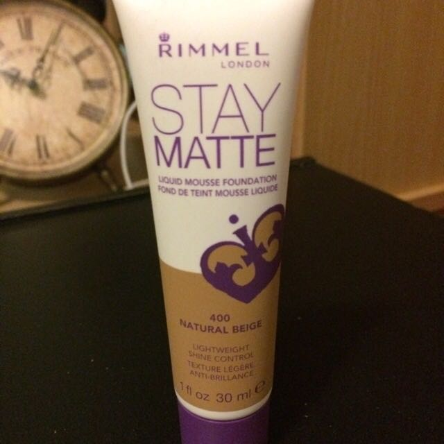 Rimmel Foundation - Natural Beige