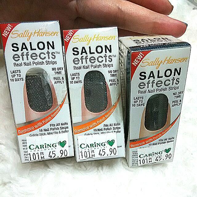 Sally Hansen Real Nail Polish Strips
