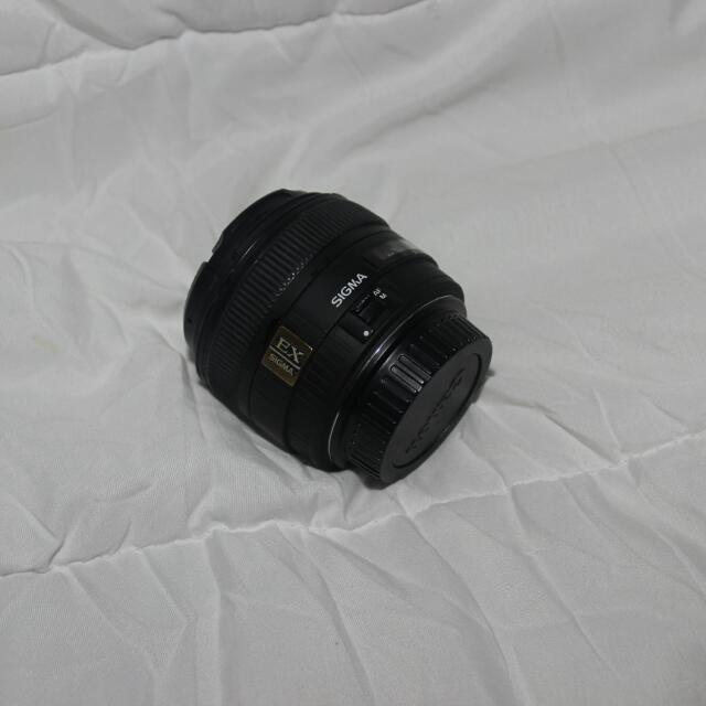 SIGMA 30MM EX HSM F1.4 CANON