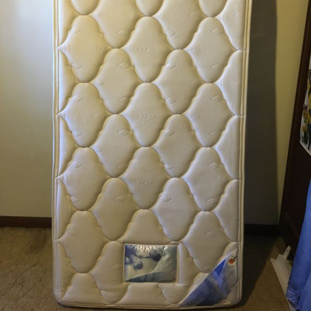 Single Mattress With Metal Frame