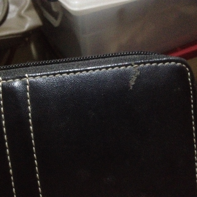 REPRICED!!! sophie martin black wallet