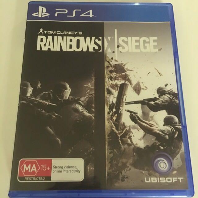 Tom Clancy's Rainbow Six Siege- PS4