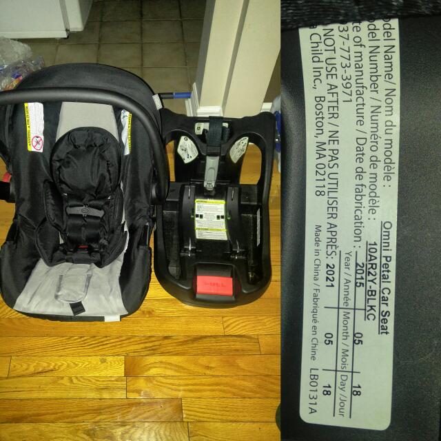 Urbani Car seat & Base (USED 4 MONTHS)