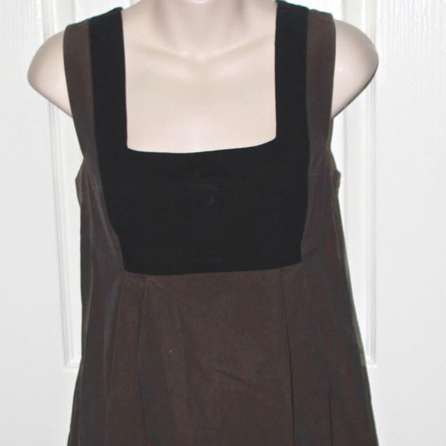 Veronika Maine Smock Dress Size 14