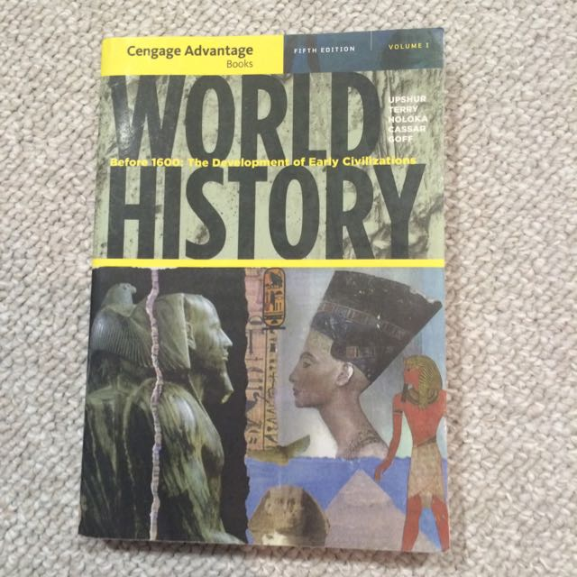 World History: Before 1600-fifth Edition-Upshur et al