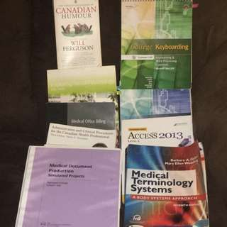 Office Admin General And Medical Textbooks