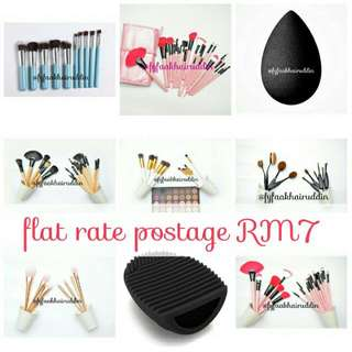 flat rate postage for makeup tools