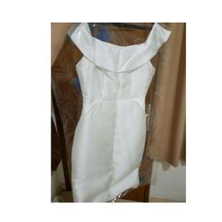 White Dress Sabrina Patinya