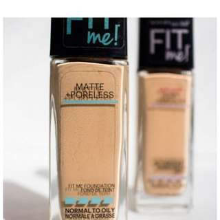 [PO] Maybelline Fit Me Matte + Poreless Foundation