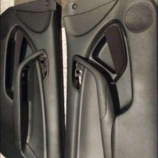 Mint Condition RSX Black Leather Door Panels