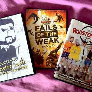 Rooster Teeth DVD Bundle Pack