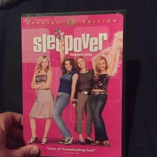 Sleepover DVD