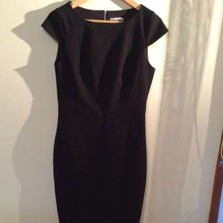 Womens Size 10 Black Work Dress