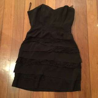 Womens Size S (10) Layered Dress