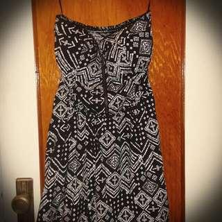 Small Strapless Black Dress