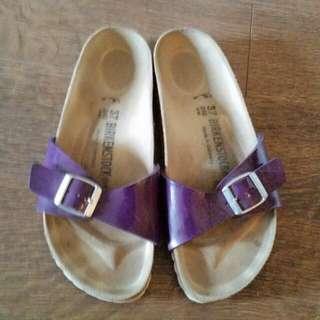 Purple Burkenstocks