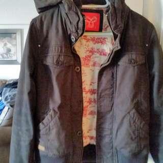 Large Black Tna Jacket