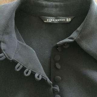Zara Trafulic Black Blouse