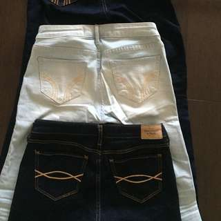 Abercrombie And Hollister Skinny Jeans