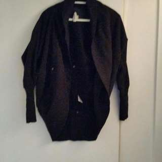 Small Black Wilfred Sweater