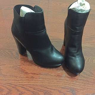 Call It Spring Black Ankle Boots