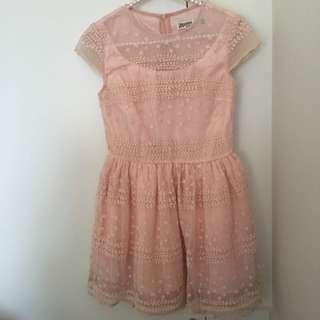 Princess Stylish Lace Dress