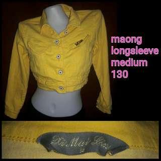 Maong Longsleeve Yellow