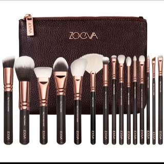 Zoeva Rose Gold 12pce Brush Set