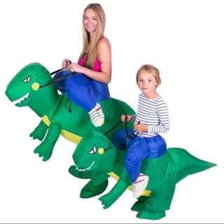 Dinosaur Riding Halloween Costume