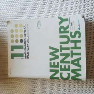 New Century Maths General 2 3rd Ed Preliminary (Year 11) Textbook