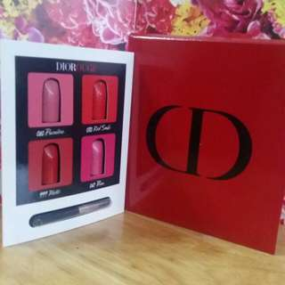 全新 Dior DIOROUGE Lipstick Sample with Brush 唇膏連掃