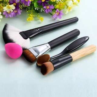 [PO] Makeup Brush + Sponge Puff
