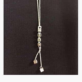Dior 經典刻字水晶項鍊