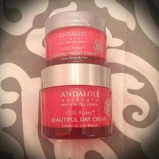 Andalou Naturals Day & Night Cream Set