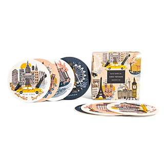 Rifle Paper City Coaster