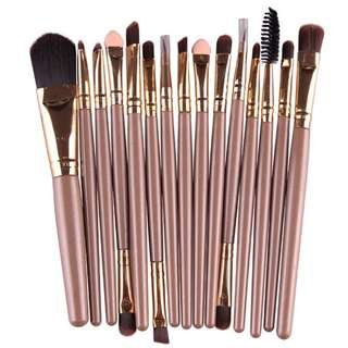 [PO] Cosmetic Brush 15Pcs
