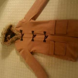 Cashmere and wool winter jacket