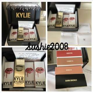 Birthday Edition Kyliner & Kylie Matte Liquid Lip Kits
