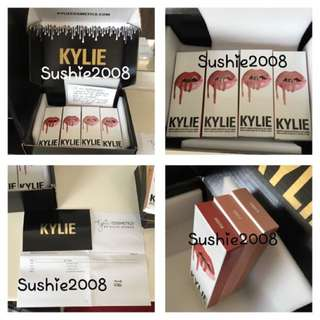 Kylie lip kits in Candy k, Koko k & Kristen